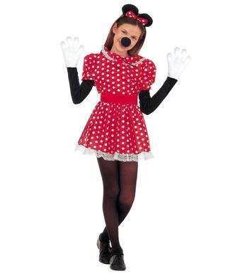 MOUSE GIRL COSTUME (dress belt ears) Childrens