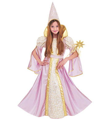 FANCY FAIRY COSTUME - 2 colours (dress hat) Childrens