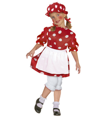 LITTLE RAG DOLL (dress pantaloons apron bonnet) Childrens