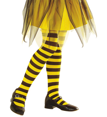 BEE PANTYHOSE - YELLOW/BLACK Childrens
