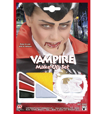 VAMPIRE MAKE-UP SET WITH ACCESSORY