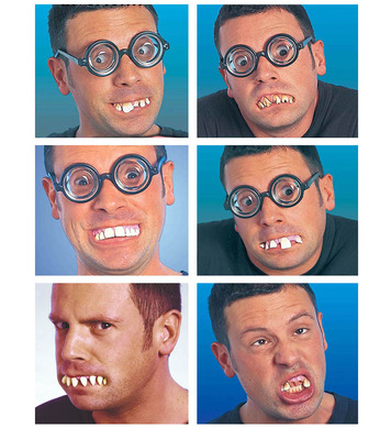 FUNNY DENTURES - 6 styles