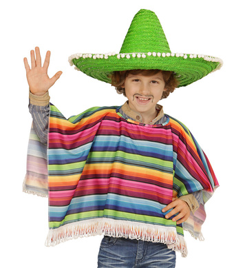 MEXICAN - CHILD (poncho)