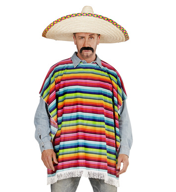 MEXICAN - ADULT (poncho)