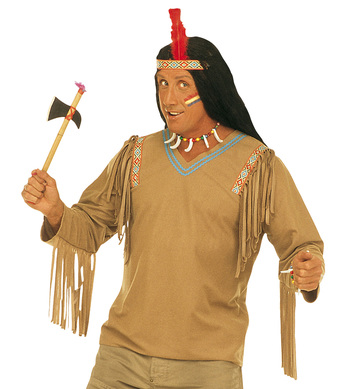 APACHE (coat headband with feather)