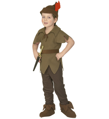 LITTLE ELF (3-4yrs/4-5yrs) (coat pants belt hat shoe covers)