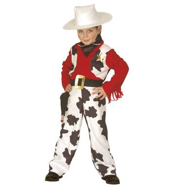 LITTLE COWBOY (3-4yrs/4-5yrs) (jumpsuit vest hat scarf)