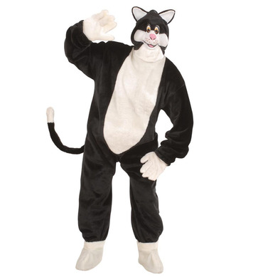 PLUSH CAT COSTUME (costume gloves shoe covers mask)