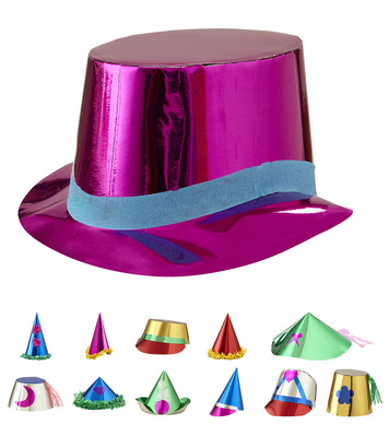 HATS METALLIC DELUXE BOX 72