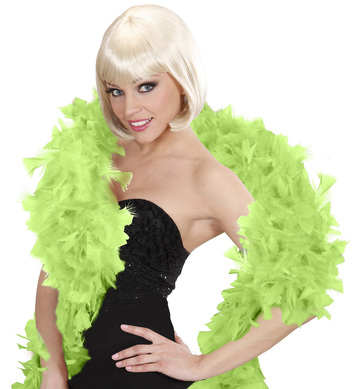 FEATHER BOA 65g 180cm LIME GREEN