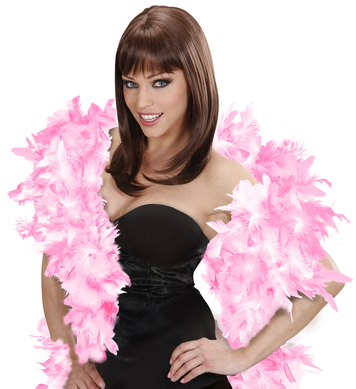 FEATHER BOA 65g 180cm - PINK/WHITE