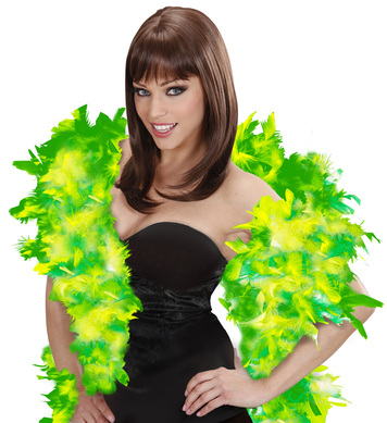 FEATHER BOA 65g 180cm - GREEN/LIME