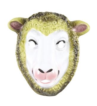 PVC SHEEP MASK child size