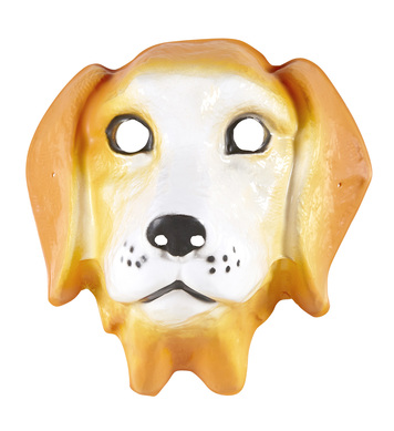 PVC DOG MASK child size