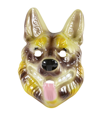 PVC GERMAN SHEPHERD MASK child size