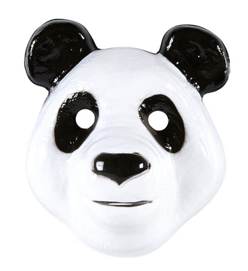 PVC PANDA MASK child size