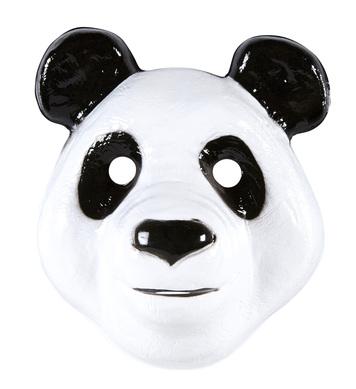 PVC PANDA MASK child size