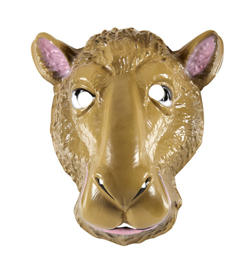 PVC CAMEL MASK child size