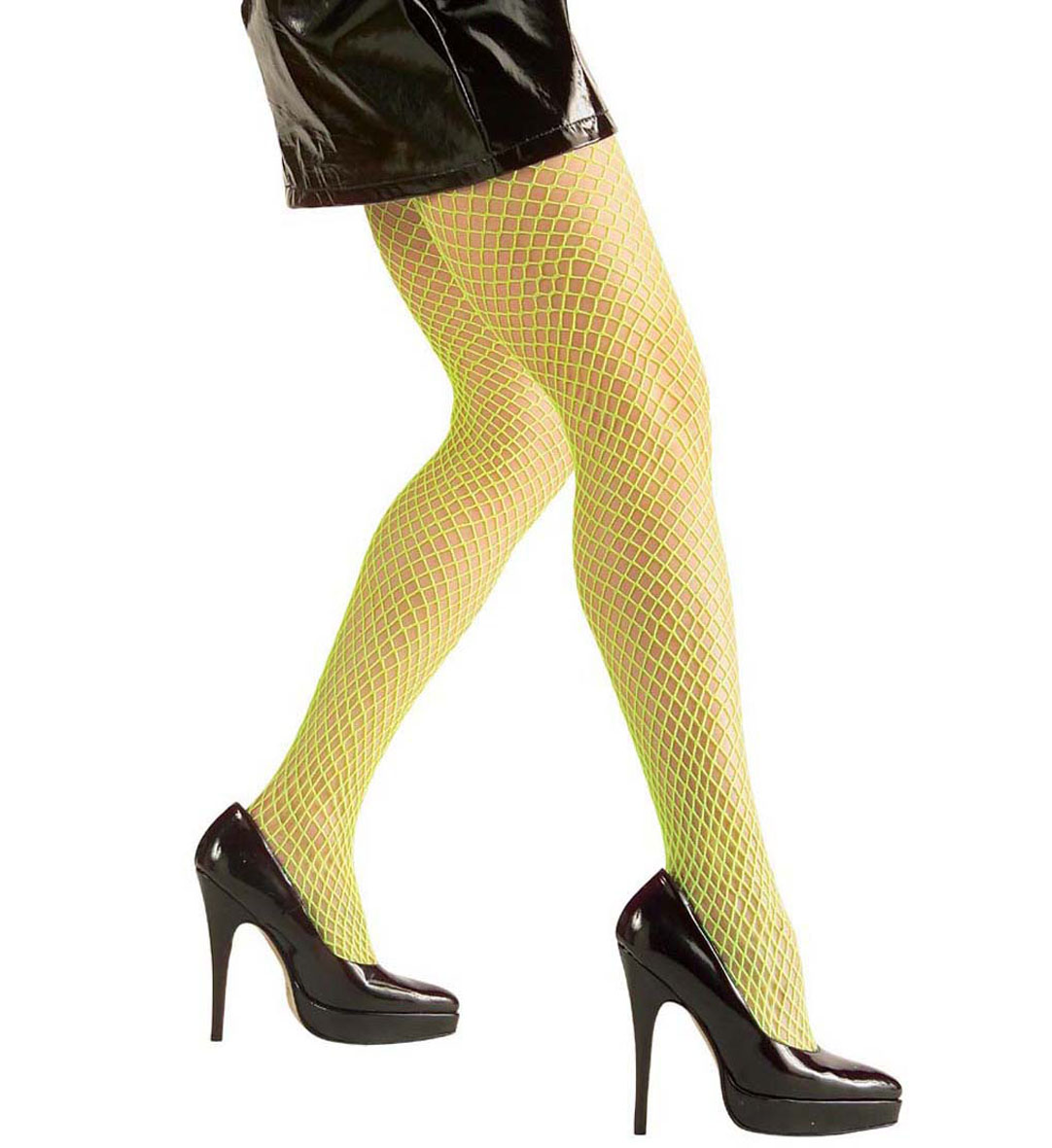 Pantyhose - Neon Wide - 4 Colours Stockings Tights Pantyhose Lingerie