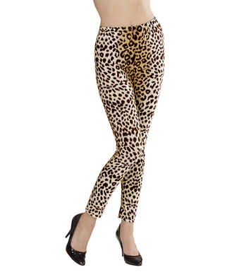 LEOPARD LEGGINGS (S/M)