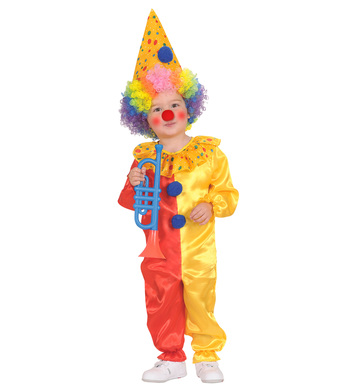 CLOWN (98cm/104cm) (jumpsuit hat)