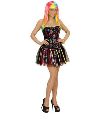 NEON RAINBOW FANTASY GIRL - M (corset tutu)