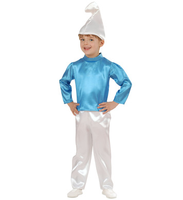 BLUE DWARF COSTUME (1-2yrs/2-3yrs) (coat pants hat)