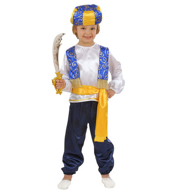 ARAB PRINCE (1-2yrs/2-3yrs) (shirt vest pants belt turban)
