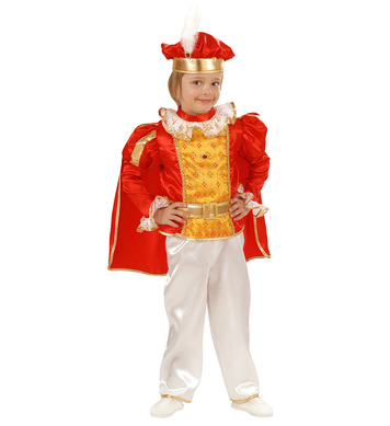 FAIRYLAND PRINCE (1-2yrs/2-3yrs) (coat cape pants belt hat)