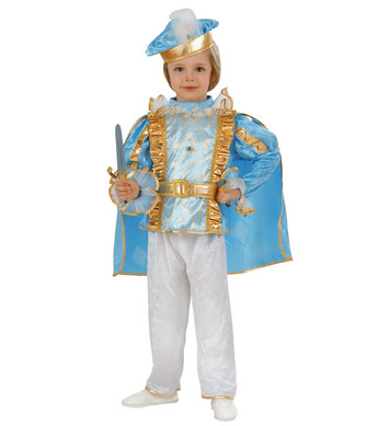 CHARMING PRINCE (1-2yrs/2-3yrs) (coat cape pants belt hat)
