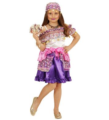 GIPSY GIRL (dress headscarf) Childrens
