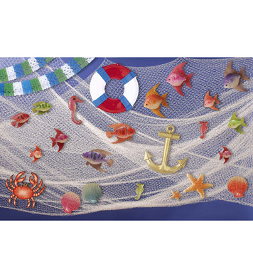 FISHERMAN FISHING NET 2m x 6m