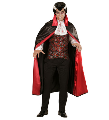 BLOODY VAMPIRE (shirt with vest and jabot cape)