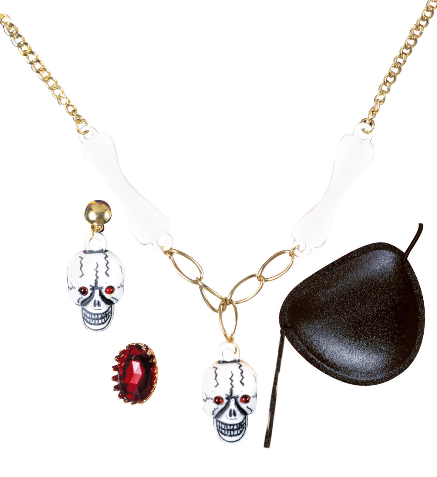 Pirate Set Jewellery Pirate Fancy Dress