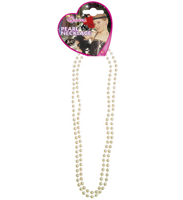 GLAMOUR PEARL NECKLACE - WHITE