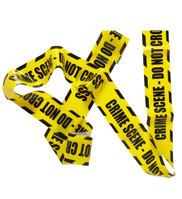 BARRICADE TAPE - CRIME SCENE DO NOT CROSS 7.20m