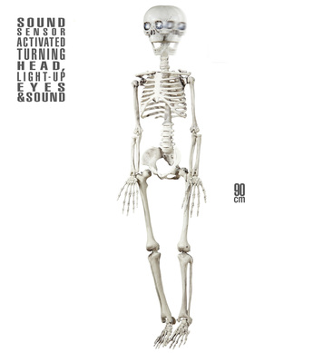 ANIMATED SKELETON 90cm
