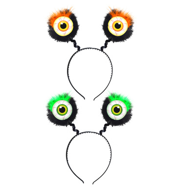 FEATHERED EYES HEAD BOPPERS - Orange