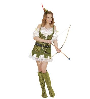 ROBIN WOOD - GIRL (dress belt purse b/covers hat)