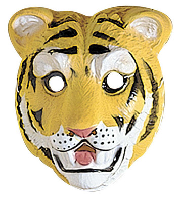 TIGER MASK PLASTIC - CHILD SIZE