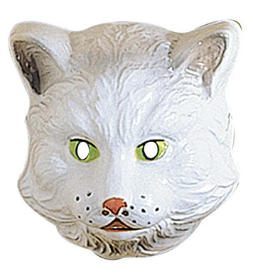 CAT MASK PLASTIC - CHILD SIZE