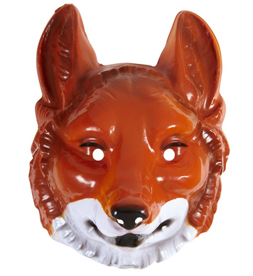 PVC FOX MASK