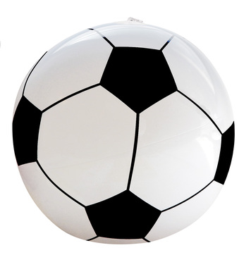 INFLATABLE SOCCER/FOOTBALL 25 cm