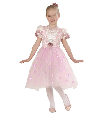 BALLERINA COSTUME (110/116cm) (dress light up skirt h/clip)