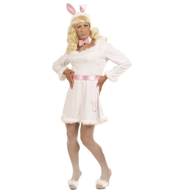 BUNNY MALE DRESS - XL (dress belt collar w/bow tie ears)