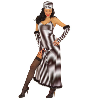 CONVICT BEAUTY black/white (dress gloves hat)