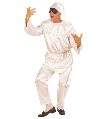 PULCINELLA COSTUME (coat pants hat)