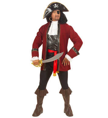BOOTY ISLAND PIRATE (coat vest cuffs pants belt hat pat