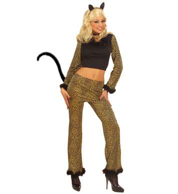 LEOPARD COSTUME - M (top pants)