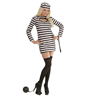 JAILBIRD COSTUME (dress hat)